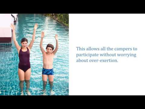 Water Aerobics for Kids