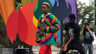 "Silento Performs ""Watch Me""(Whip/Nae Nae) LIVE! - SC Pride Festival 2018"