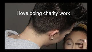 james charles being rude to emma chamberlain and the dolan twins