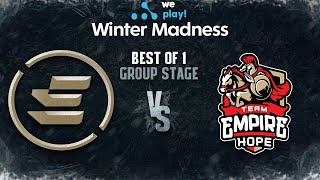 EPG vs Empire Hope Bo1 - WePlay! Winter Madness - Group Stage
