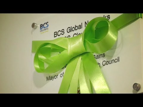 The Mayor Opens BCS Global's New HQ