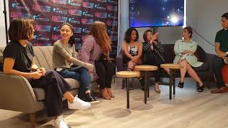 ANGELINE QUINTO gets emotional at the presscon of her concert with KYLA, LIEZEL, JAYDA, RADHA