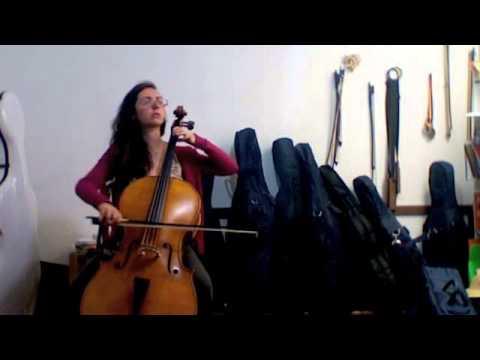 Prelude to Britten's Suite for Solo Cello #1