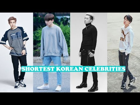 Shortest Korean Idols
