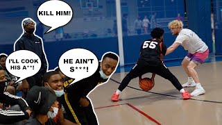 Sideline S*** Talkers Get EXPOSED! 5v5 Men's League Basketball!