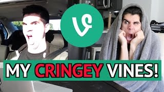 REACTING TO MY OLD CRINGEY VINES! 2 (MOST CRINGEY)