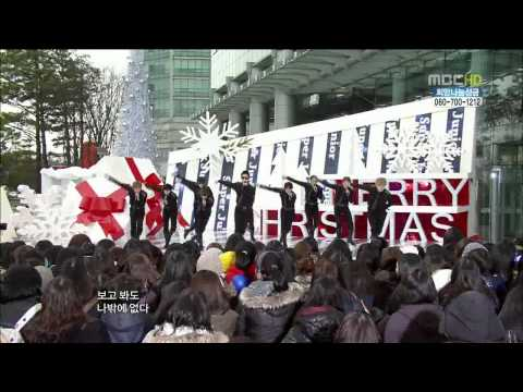[HD] [101225] Super Junior - Bonamana @ Music Core Special Christmas