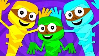 Happy Halloween Scary Nursery Rhymes | Baby Songs For Children & Kids By Haunted House