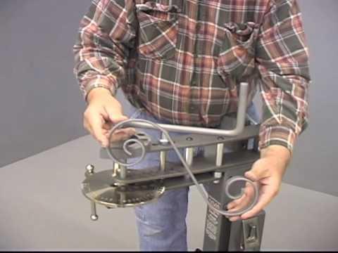 2040 Compact Bender Metal Pipe Amp Rod Bending Tool