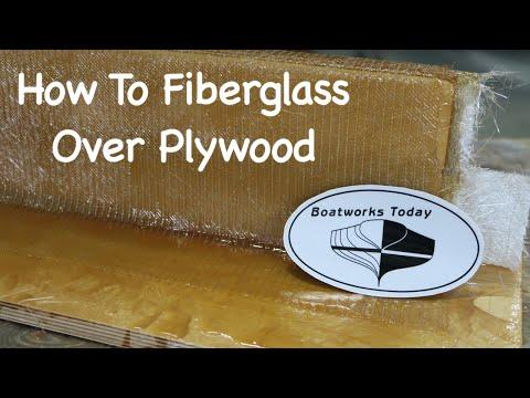How To Fiberglass Over Plywood