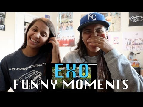 EXO -FUNNY MOMENTS- REACTION!