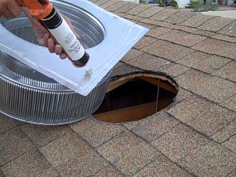 Roof Vent Install Part 2 Youtube