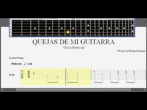 Quejas de mi guitarra (Cholo Berrocal)