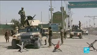 """Ghazni a """"ghost town"""" after five days of fighting."""