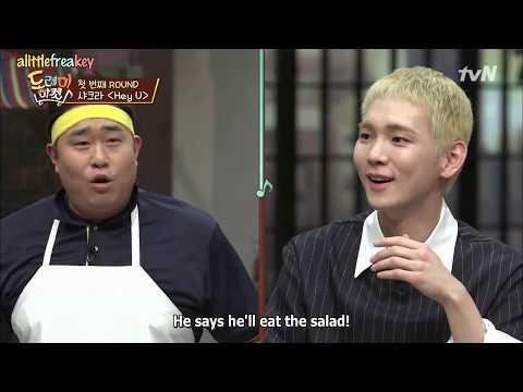 Amazing Saturday (Eng Sub) - SHINee Key's Unique Taste in Food