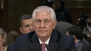 Questions on Russia dominate Rex Tillerson's confirmation hearing