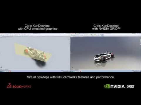 ICT-Cloud.com ® NVIDIA GRID vGPU - CAD