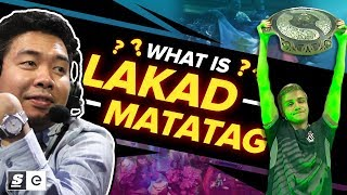 What is Lakad Matatag? The Filipino Meme that Helped OG Win The International