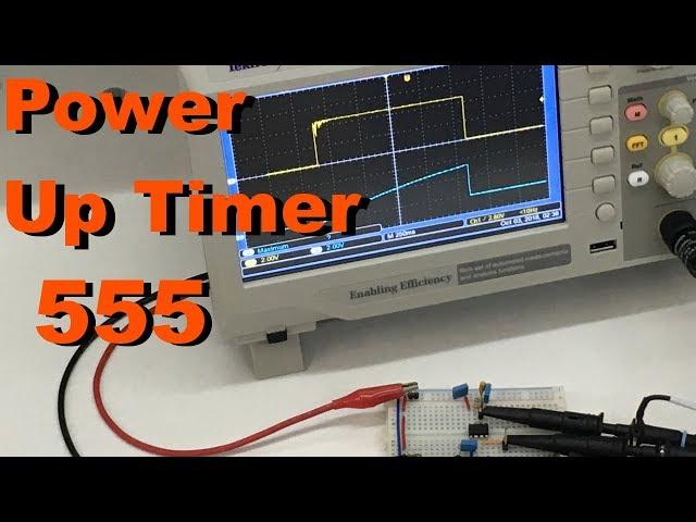 RETARDO DE OPERAÇÃO (POWER UP TIMER) | Conheça Eletrônica! #096