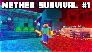 Minecraft But I Start In The NEW 1.16 Nether! (Nether Survival #1)