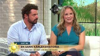 Emmy blev handlöst förälskad i en hemlös - Nyhetsmorgon (TV4)