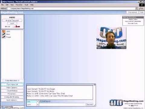 MegaMeeting Video Conferencing Demo Free