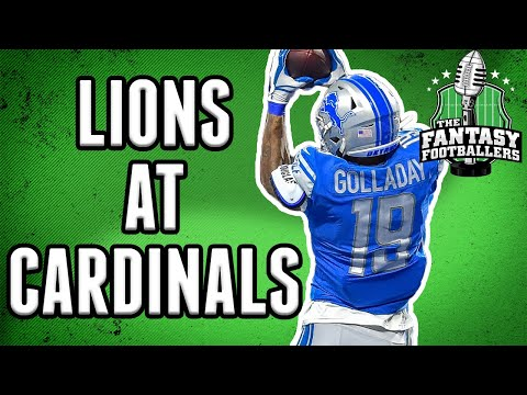 Week 1 Fantasy Football: Lions at Cardinals