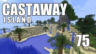 """Minecraft - """"Castaway Island"""" Part 75: A Big Drop"""