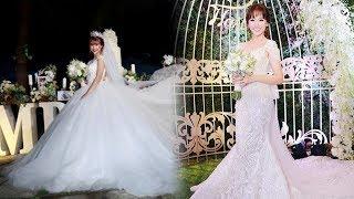 Tiền 3chiếc váy cưới của Khởi My chưa đủ mua được nửa váy cưới của Hari Won và loạt mỹ nhân Việt này