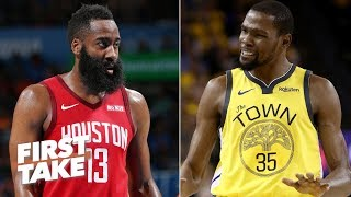 James Harden, not Kevin Durant, will succeed LeBron as the world's best - Stephen A. | First Take