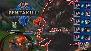 Epic LOL Moments #1 |Odyssey Yasuo Montage Pentakill !!!