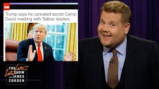 Trump Goes from the Taliban for Chrissy Teigen