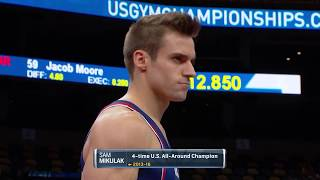 2018 U.S. Gymnastics Championships - Men - Day 2 - Olympic Channel and NBC Broadcast