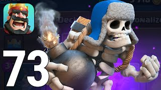 Clash Royale Gameplay Walkthrough Part 73 - Giant Skeleton Clone Deck 2020 [iOS/Android Games]