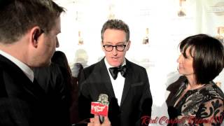 "Tom Kenny ""Ice King""& ""Spongebob Squarepants"" at the 41st Annual Annie Awards Red Carpet"