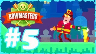 Bowmasters New Characters Upgrades Part 5 #Bowmasters #BowmastersUpgrade #BowmastersGameplay