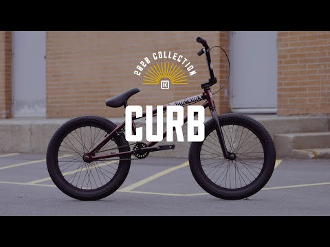 "Video KINK Bmx CURB 20"""" Moyeu Cassette 2020 Mint"