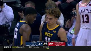 West Virginia vs Texas Tech Mens Basketball Highlights