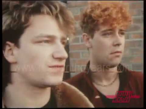 U2- Interviews and full 7-song set on Countdown 1982