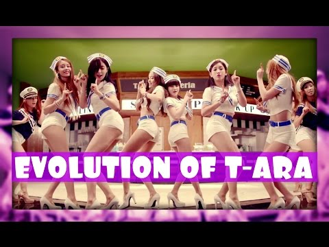 EVOLUTION OF T-ARA (티아라) [2009-2016] – Tribute to K-POP LEGENDS