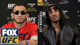 Tony Ferguson and Kevin Lee get heated ahead of UFC 216   UFC TONIGHT