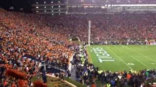 Final Play of the 2013 Iron Bowl w/ Student Section Reactions