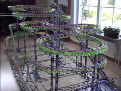 original k nex roller coaster instructions