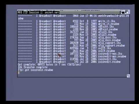 Amiga kickstart disk