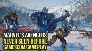 Marvel Avengers Game - NEVER SEEN BEFORE Gameplay Shows Suits, Enemies & More (The Avengers project)