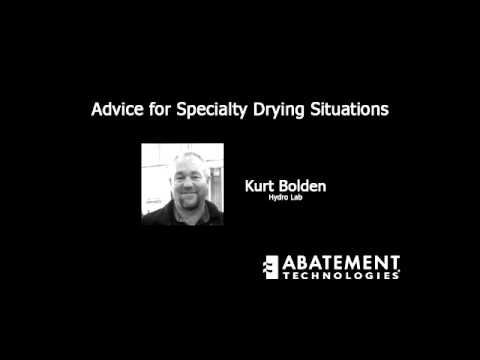 Advice for Specialty Drying Situations