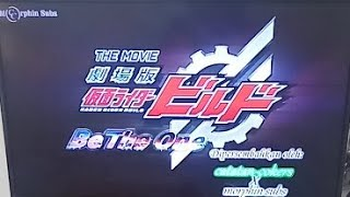 React KAMEN RIDER BUILD: Be The One. Build Most Wanted!??