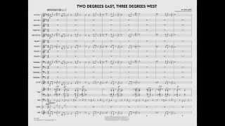 Two Degrees East, Three Degrees West by John Lewis/arr. Taylor