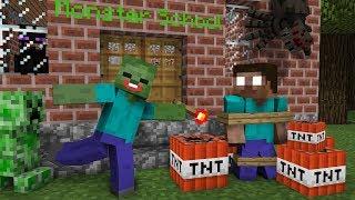 Monster School: SEASON 2 ALL EPISODES - Minecraft Animation Movie