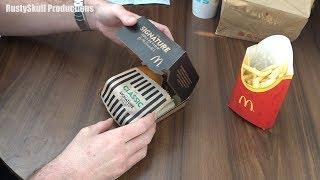 McDonalds Signature Classic Burger